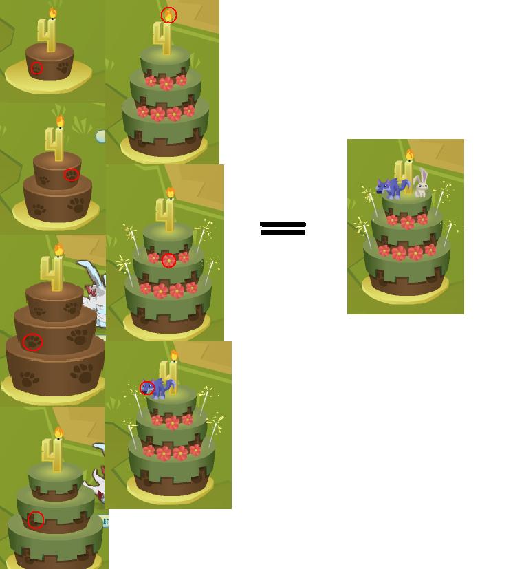 Birthday Cake Animal Jam