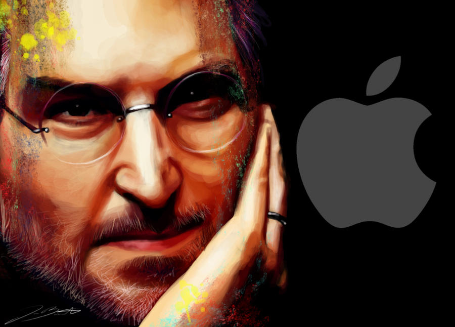 Steve Jobs by pinkxfuzziexkitties