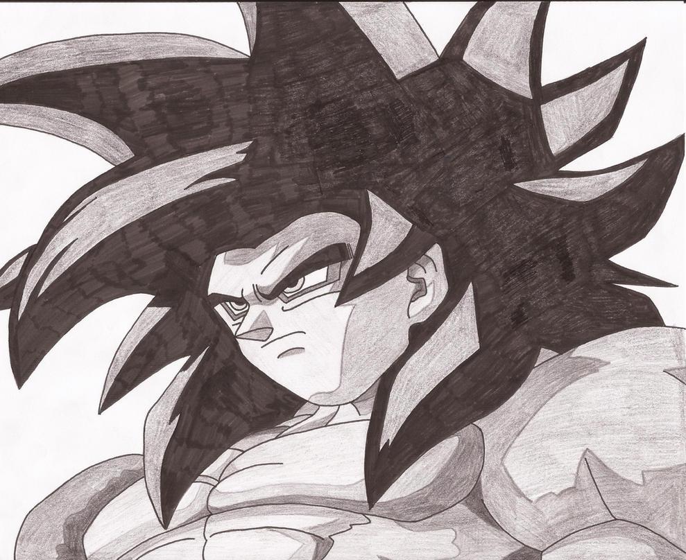 Goku SSJ4 by superheroarts