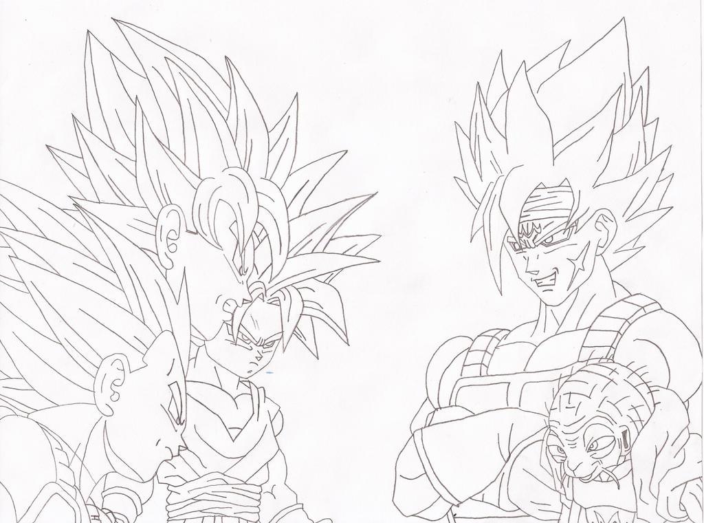 Dragon Ball Z Vegeta Ssj2 Coloring Pages