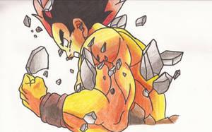 Goku Fssj by superheroarts