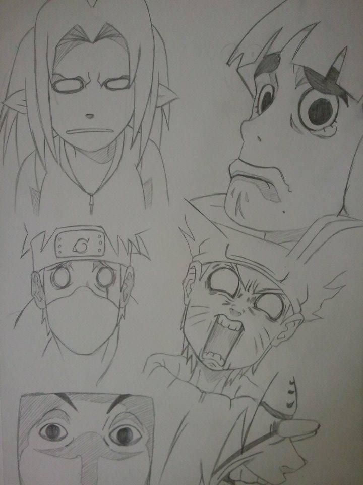 Naruto Funny Face Lips...
