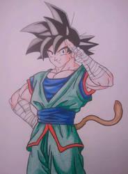Son Goku by superheroarts