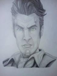 Handsome Jack by superheroarts