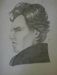 Benedict Cumberbatch- Sherlock Holmes by superheroarts