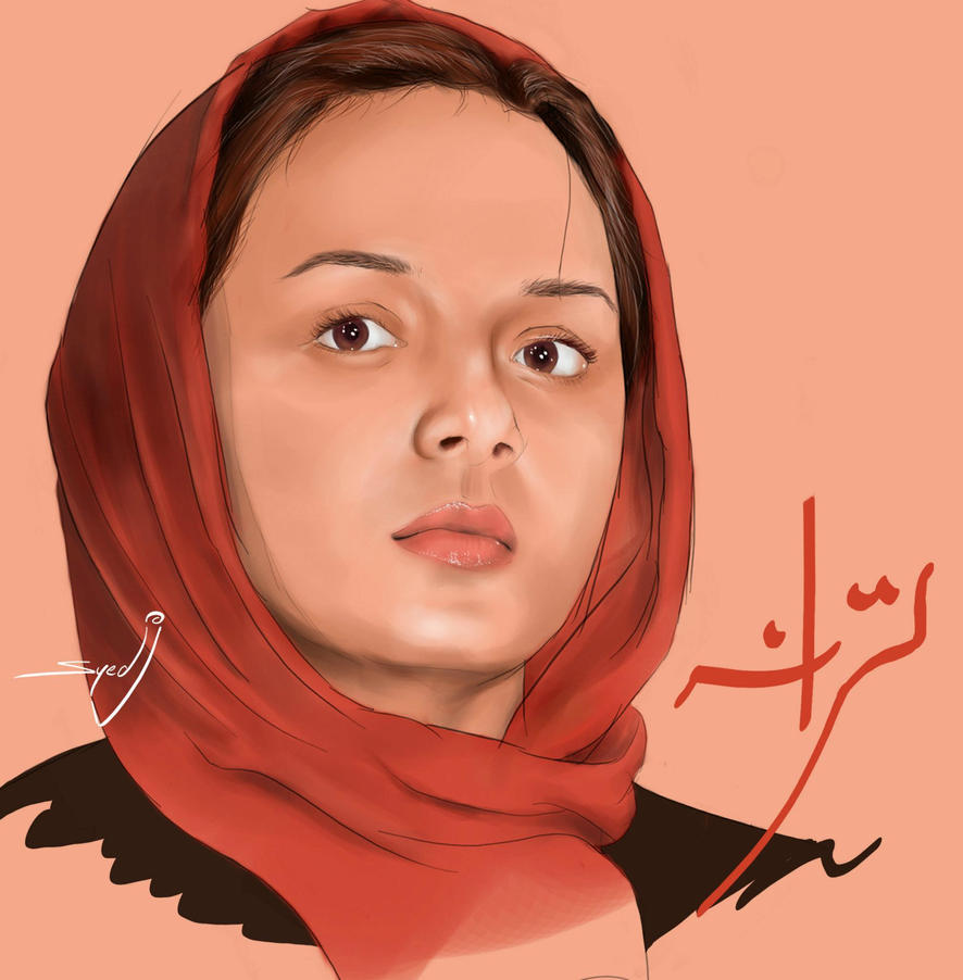 Portrait of Taraneh Ali Doosti - Persian Actress by ...