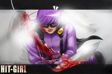 Hit-Girl by SyedJeem