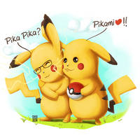 Pikachu - For a friend (her wedding gift) :) by SyedJeem
