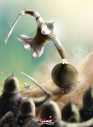 Battle of AKBAR (Redo after 3 years) by SyedJeem