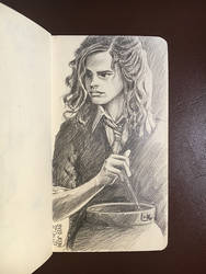 Hermione Lovely Granger by SyedJeem