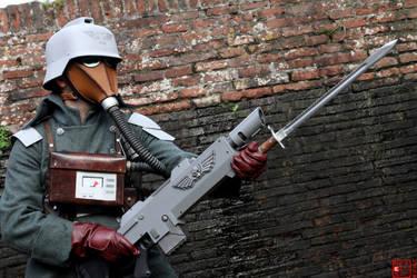 Death Korps of Krieg cosplay by TotenPF