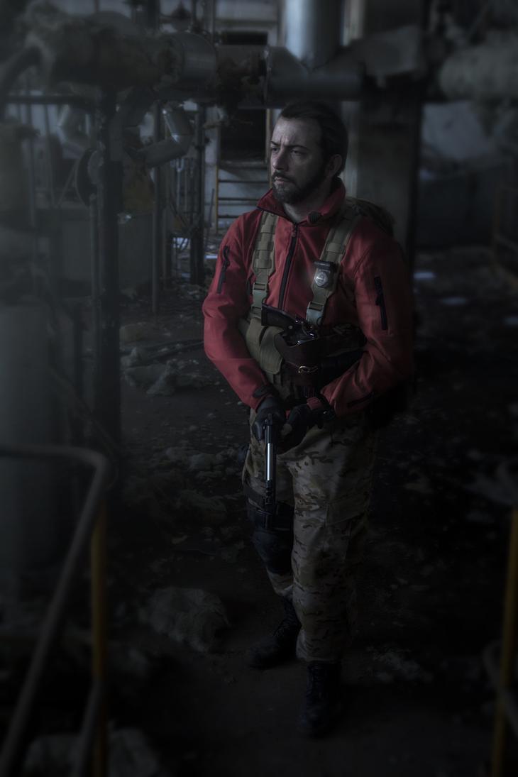 Barry Burton - Resident Evil Revelations 2 by TotenPF