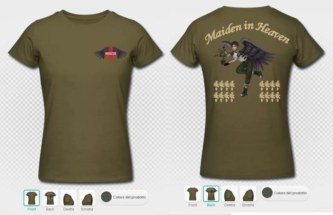 Maiden in Heaven Tshirt preview by TotenPF