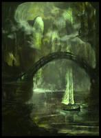 Ghostships by Juhupainting
