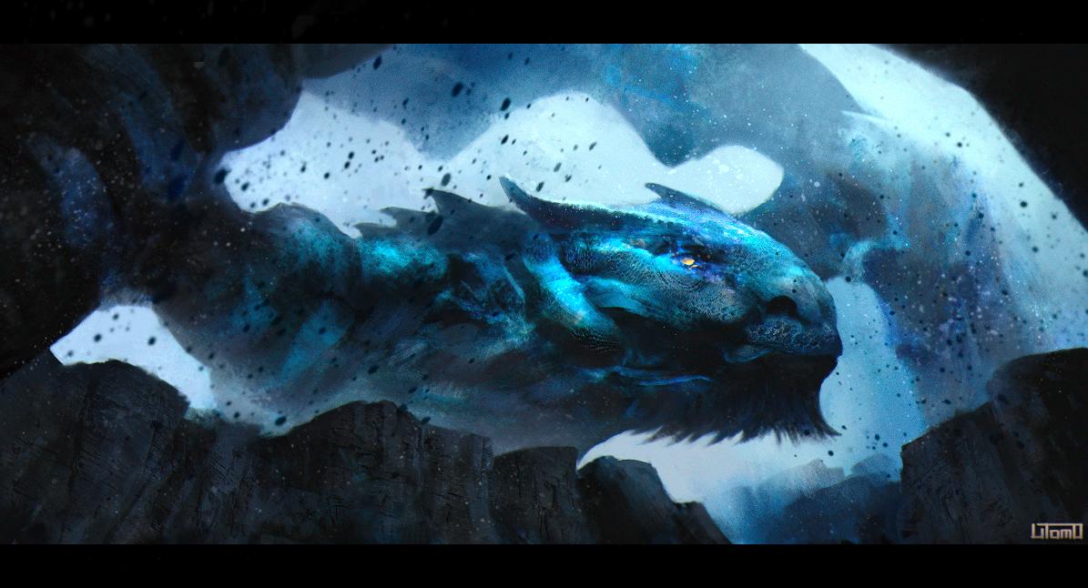 Azure Tigrex by Juhupainting