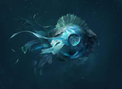 Deep Ocean Lifeform