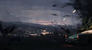 Dawn by Juhupainting