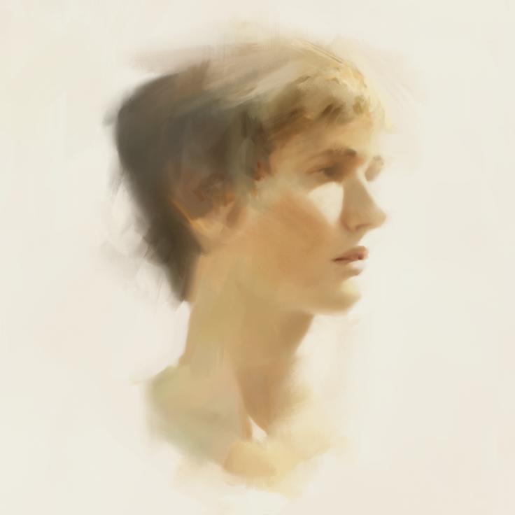 Portraitstudy by Juhupainting