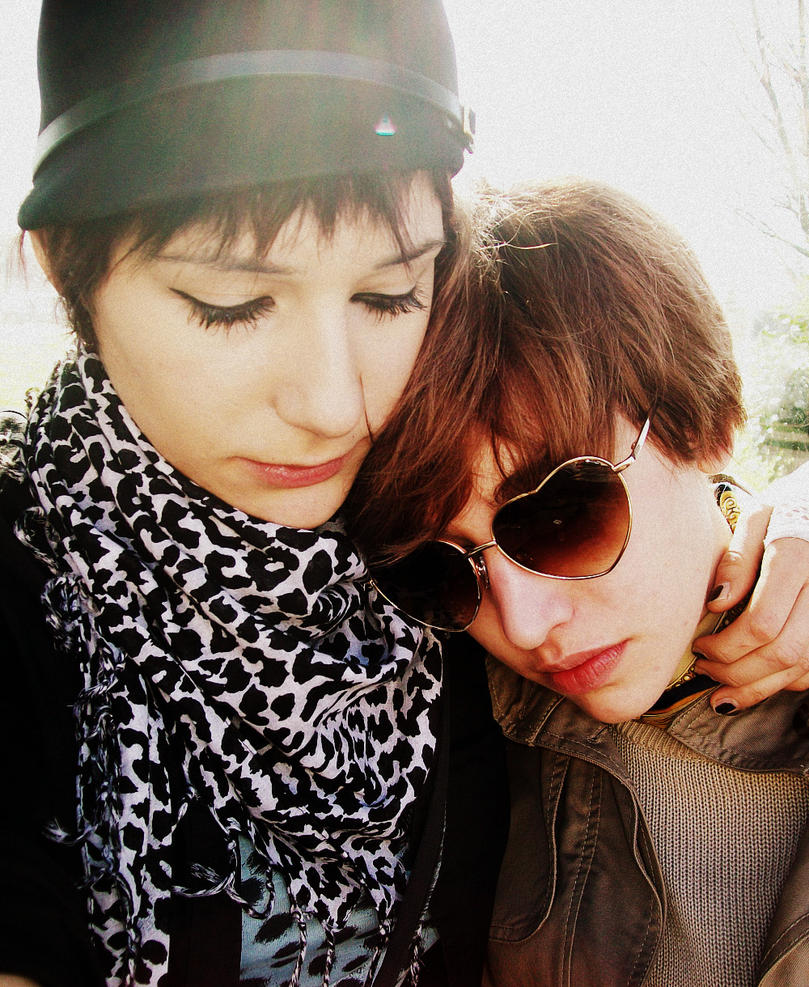 Two girls. by pierrot1992