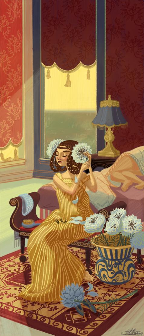 floral dress by jenniferhom