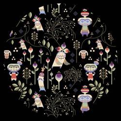 Garden Pattern by jenniferhom