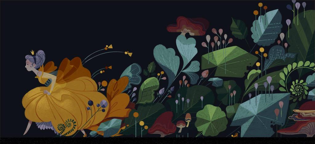 through the woods by jenniferhom