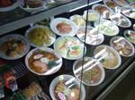 Plastic Display Food 4