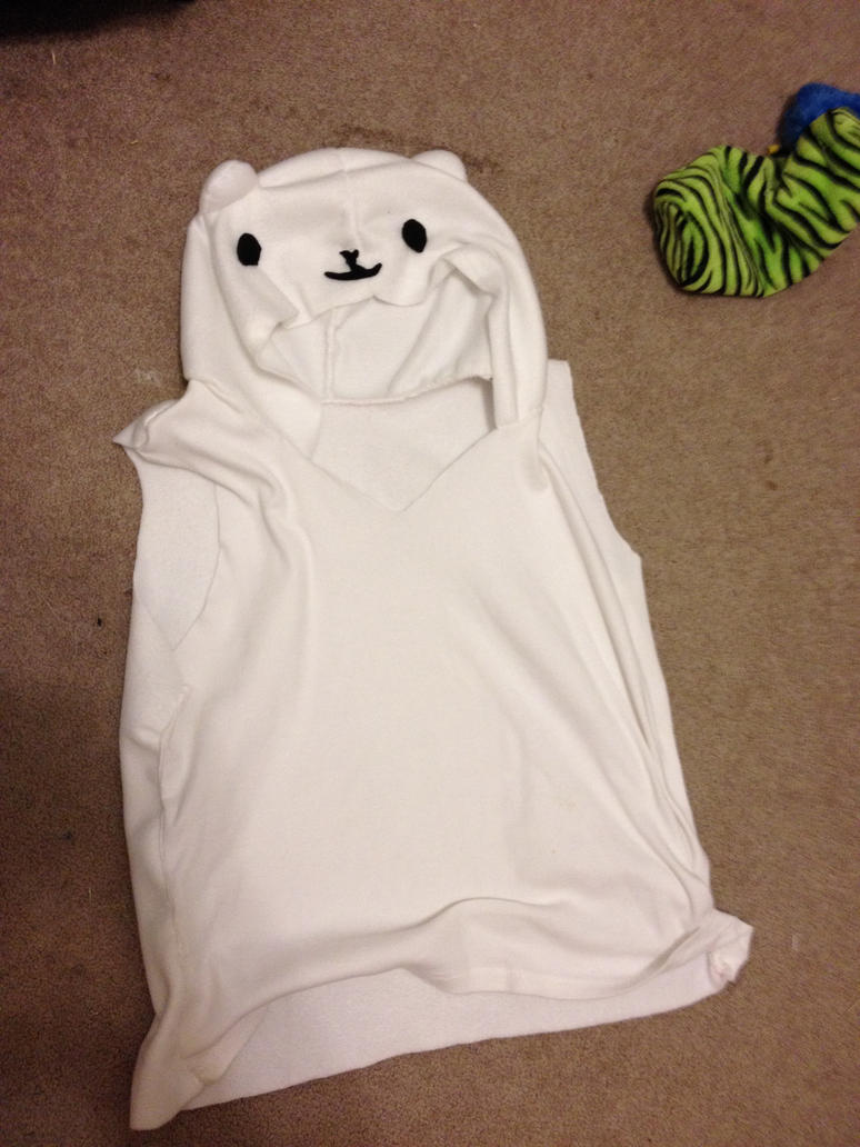 Homemade Polar Bear Hoodie by ChristinaPossumette