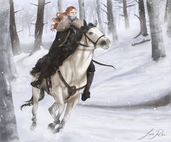 The hunt by juca-rita