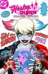 Harley Quinn Summer Special retro mock cover