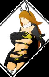 Agnes Oblige Vampire Job Outfit Fanart by BigBoss738