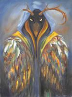Hooded Falcon by greymattre