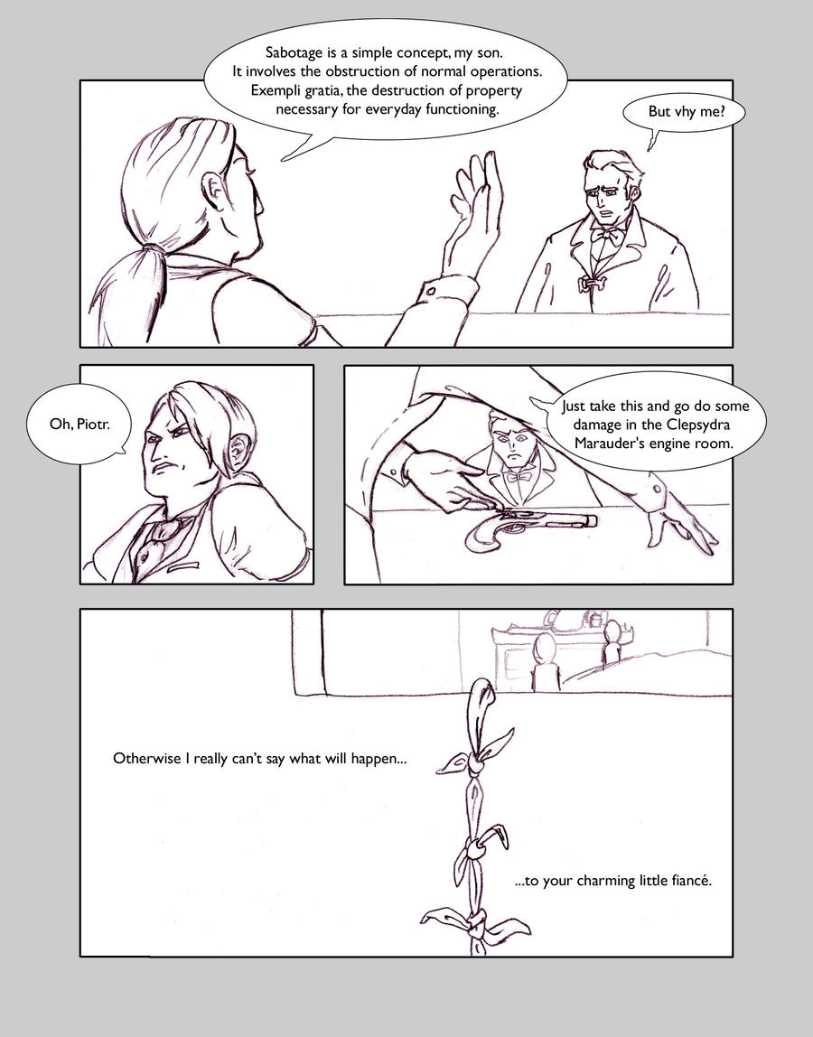 rogue Skies: Round 1, Page 3 by greymattre