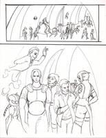 Ebon Spire: R1 pg2 by greymattre