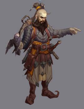 Dwarven adventurer