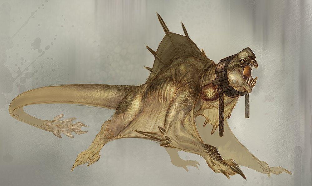 God of War Basilisk by Carlo-Arellano