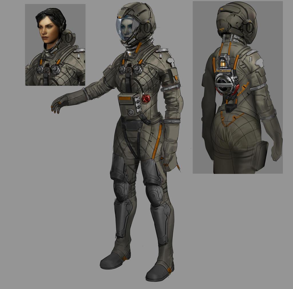 spacesuit by Carlo-Arellano on DeviantArt