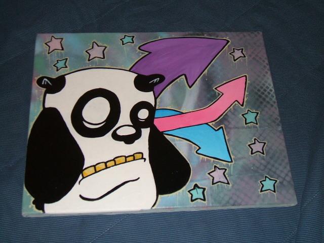 Mr. Panda by lostincaulfields