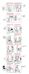 Sample Storyboard before Animation by bellylaughs-deviant