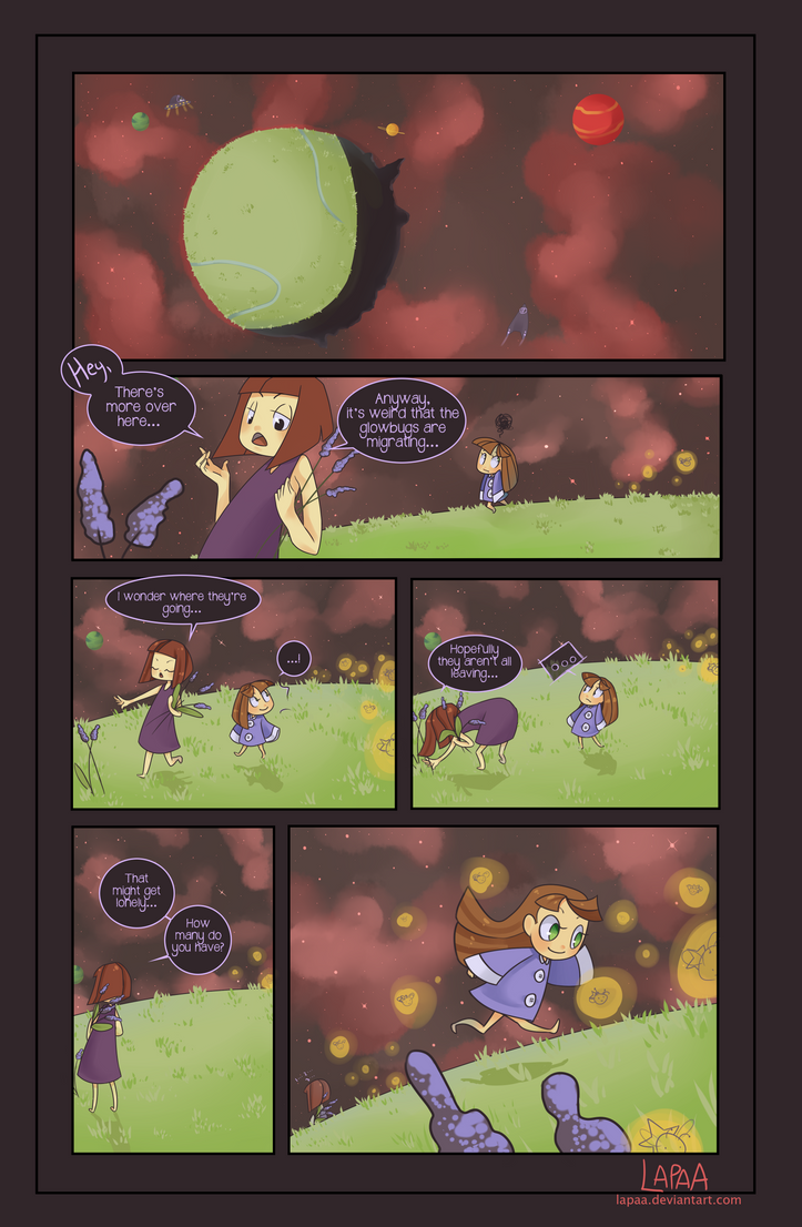 Look On the Bright Side pg1 by lapaa