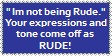 You SOUND rude stamp by Van-Nessie