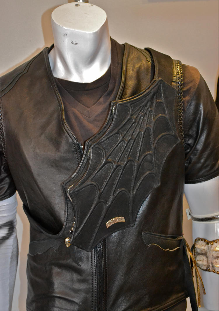 Spider web chest pac by loganriese