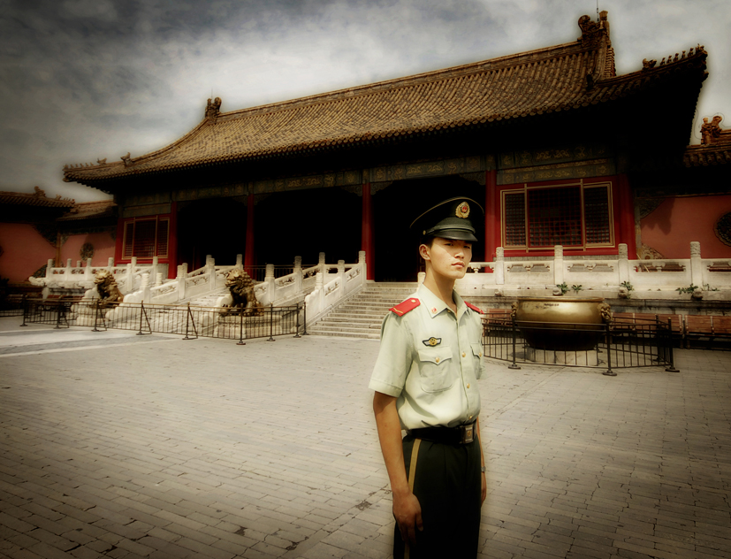 Forbidden City Guard. by JamesFlynn23