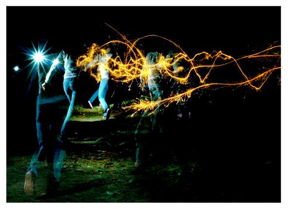 sparklers by JamesFlynn23