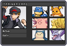 Journey Through Kanto - Trainer I.D. by TheCynicalPoet