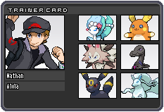 Journey Through Alola - Trainer I.D. by TheCynicalPoet