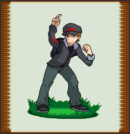 Pokemon Trainer Nathan by TheCynicalPoet