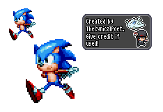 Blasting Through - Sonic Mania Tribute Sprite by TheCynicalPoet