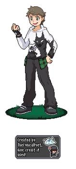 Lavender Town Style - Trainer Nathan