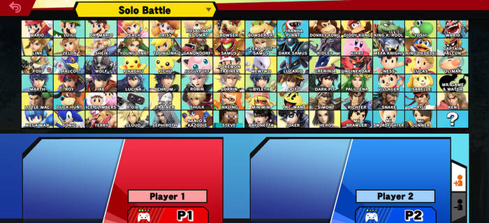 Super Smash Bros. Ultimate - Roster by Series